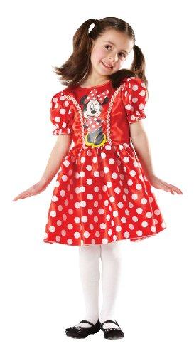 Rubie's Karneval Kinder Kostüm Minnie Maus Kleid verkleiden Größe ()