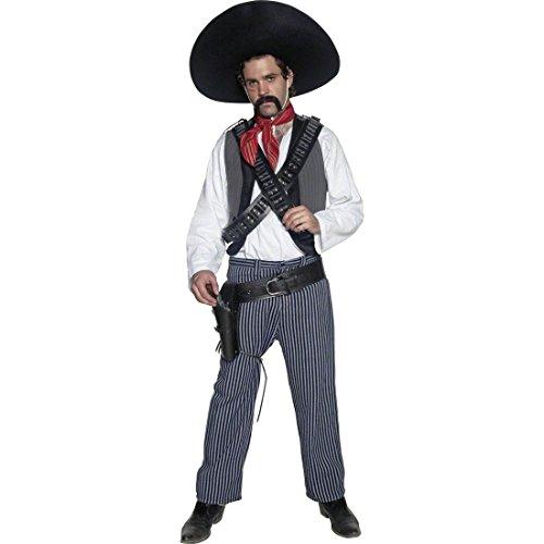 Imagen de poncho mexicano disfraz méxico traje bandido