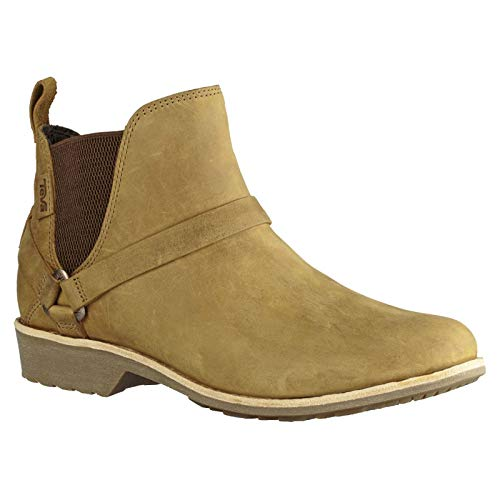 Damen-harness Boot (Teva Damen Delavina DOS W's Chelsea Boots, Braun (Pecan), 39 EU)