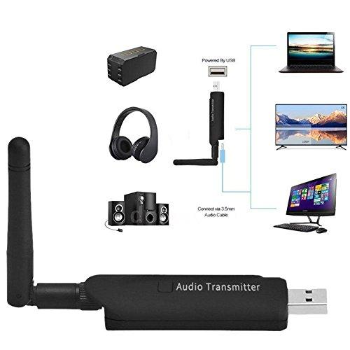 Rokoo USB Wireless Bluetooth 4.1 A2DP Audio Sender Stereo Adapter für TV DVD PC - Bluetooth A2dp Stereo Audio