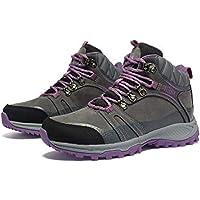 HUALQ S8069 Zapatos De Caminar De Gran Tamaño para Hombres, Zapatos De Exterior, Zapatos para Caminar, Zapatos De Hombre, Impermeables, Antideslizantes, Esquí De Fondo E Invierno