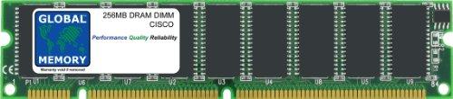 GLOBAL MEMORY 256MB DRAM DIMM ARBEITSSPEICHER FÜR Cisco 7200Series ROUTERN npe-225/300& nse-1/1-7206VXR (mem-sd-nse-256mb) Nse Serie