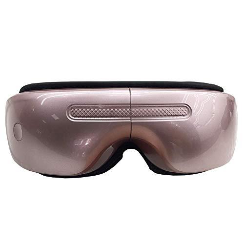 ANKIKI USB Augenmassagegerät Konstante Temperatur Massage Augenmaske mit 5 Modi zum Auge entspannen Belastung entlasten,Pink -