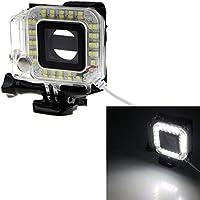 redcrest (TM) GoPro Accessori USB Obiettivo Anello Luce NightShot ripresa LED Flash Fill Light Notte Shoot Fotocamera per GoPro Hero3/3+/4