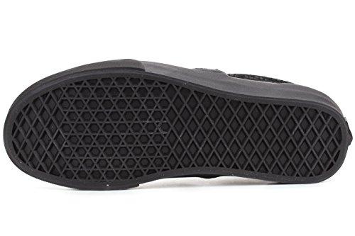 nero Rettile da Dx Vans Classic uomo on Skateboard Scarpe Slip nero Black qnUH8