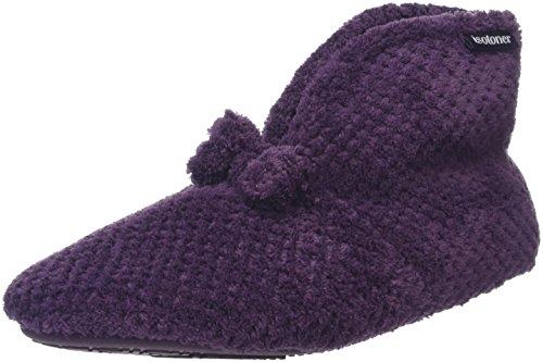 isotoner-damen-popcorn-bootie-flache-hausschuhe-violett-violett-40-eu-7-uk