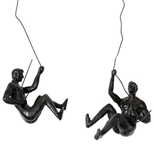 Resin And Metal Hanging Climber ...