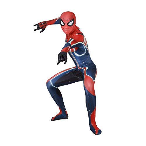 werty PS4 Beschleunigung Spiderman Kostüm Spider-Man Cosplay Kleidung Film Kostüm Prop Erwachsene Halloween Kostüm XXXL