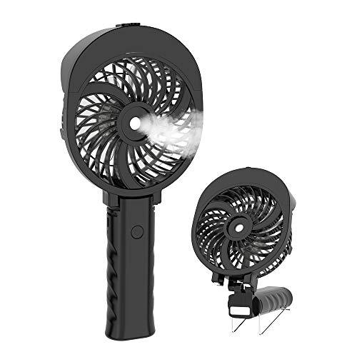 HandFan Ventilador portátil Agua Ventilador de Mano Mini Ventilador eléctrico Personal con batería...