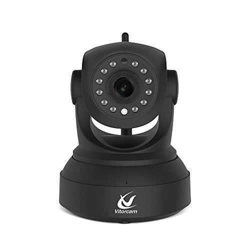 Vitorcam 1080P 2. 0 MgePixel FullHD Wireless IP Camera for Baby /Elder/ Pet/Nanny Monitor, Plug/Play, Pan/Tilt, Two-Way Audio & Night Vision Home Security Camera CA-12