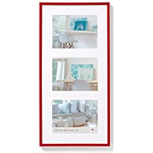walther design KV338R New Lifestyle picture frame, 3X 5 x 7 inch (3X 13 x 18 cm), red