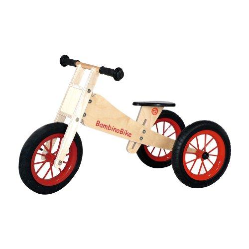 Preisvergleich Produktbild Bambino P2410 - Bike Holz-Lernlaufrad Trike, natur