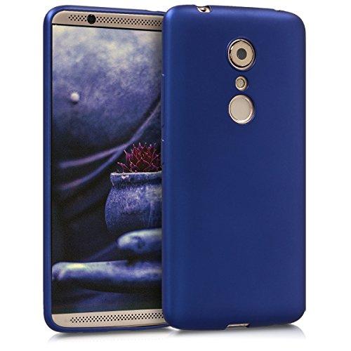 kwmobile ZTE Axon 7 Hülle - Handyhülle für ZTE Axon 7 - Handy Case in Metallic Blau