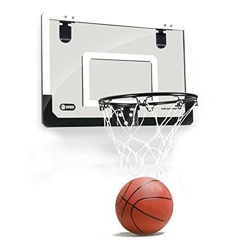 SODIAL Mini Basketballkorb mit Ball 18 Zoll x12 Zoll bruchsicher Rueckwand