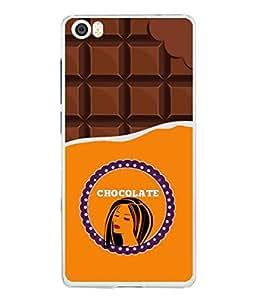 Xiaomi Mi 5, Redmi Mi5 Back Cover Chocolate Lady Icon Design From FUSON