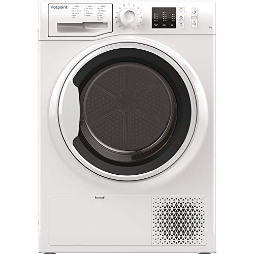 Hotpoint NTM1081WKUK Freestanding A+ Rated Condenser Tumble Dryer - White