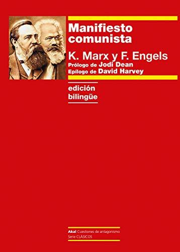 Manifiesto comunista. Edición bilingüe (Cuestiones de Antagonismo)