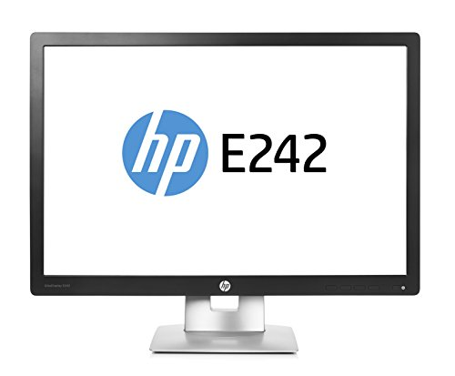 HP EliteDisplay 24-Inch E242 IPS 1920 x 1200 LED Monitor - Black