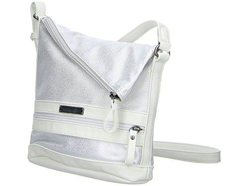 Tamaris - Smirne Crossbody Bag, Borse a tracolla Donna Bianco (White Comb)
