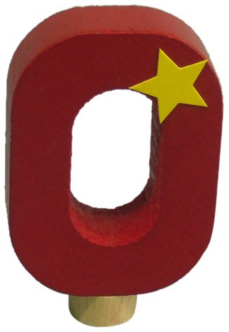Niermann Standby 9620 - Geburtstag-Happy-Zahl 0, passend für alle Niermann Standby Dekoartikel
