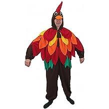 """Costume uccello colorato """"Bobby"""", taglia L, tuta Hahn Carnevale Carnevale pappagallo"""