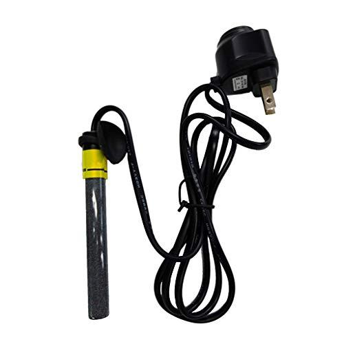 YX-Haustier Aquarium Mini-Aquarium-Heizung Tauch-Auto-Thermostat-Heizung einstellbar Power Sicherheitseinsparung Glas mit Saugnapf und Schutzabdeckung -