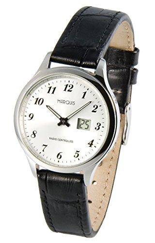 Damen Funk Armbanduhr (Junghans-Werk) Funkuhr 964.4707