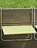Balkon Tisch L55cm grün Eisen pulverbeschichtet