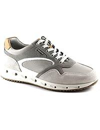 IGI CO 77161 Perla Beige Scarpe Uomo Sneakers Lacci Pelle Gore-Tex 3e5eb6c0ad5