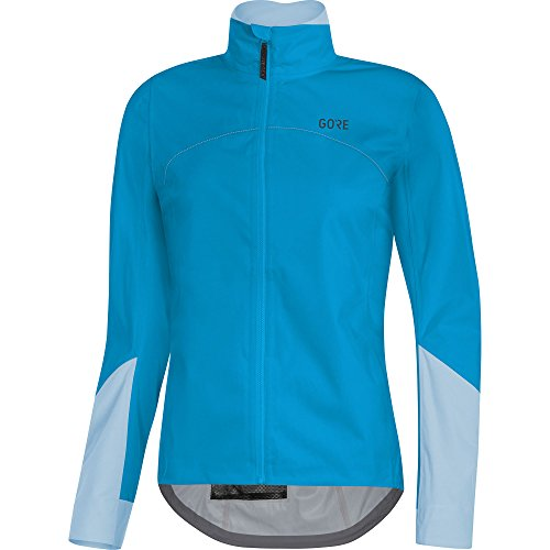 GORE WEAR Damen C5 TEX Active Jacke, Dynamic Cyan/Ciel Blue, 38