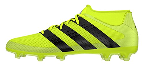 adidas Ace 16.2 Primemesh Fg/Ag, Chaussures de Foot Homme solar yellow- core black- silver met.
