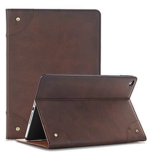 elecfan Tab S 8.4 Case, Ultra Dünn Leichtgewicht Book Stil Flip PU Leder Hülle Tasche mit Ständer Auto Schlaf Wach Funktion für SM-T700 / SM-T705 Samsung Galaxy Tab S 8.4 (Tab S 8.4, Dunkelbraun)