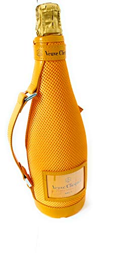 Veuve Clicquot Brut Champagner 0,75l Ice Jacket 12{8b2e85041e0c05791edf19b2eab9b3b80e4f717dcff83d4343e64019bba55c4b} Vol Kühltasche mit Griff