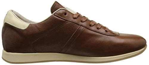 Kost Spursy, Baskets Basses Homme Marron (Cognac+Ecru)