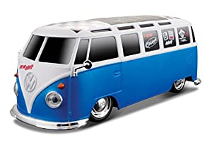 Maisto 81017-Tech-VW Van Samba-1: 24R/C, Escala 1: 24