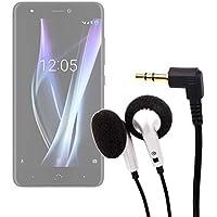 DURAGADGET Auriculares para el Smartphone BQ Aquaris X | X Pro - ¡Ideal para Escuchar