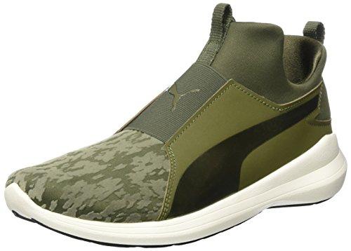 Puma Damen Rebel Mid VR Hohe Sneaker, Grün Olive Night, 40 EU Evo Mid Sneaker