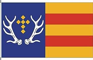 Hochformatflagge Grafschaft - 80 x 200cm - Flagge und Fahne
