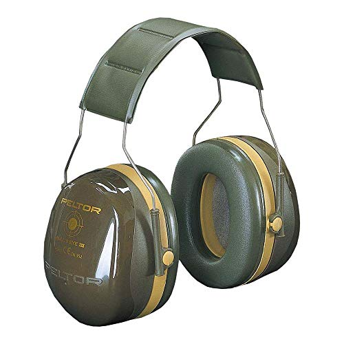3M Peltor Optime III Kapselgehörschutz mit Kopfbügel, Hi-Viz, SNR 35 dB
