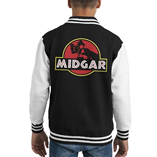 Cloud City 7 Final Fantasy Midgar Park Kid's Varsity Jacket
