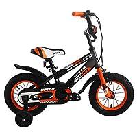 Upten Boy Furious Mechanical Rim Bicycle - Orange, 12 Inch