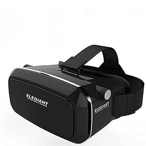 "'Elegiant Universal Box Video Movie Game 3D Adjustable VR virtual reality Glasses Virtual Reality Glasses for 3.5""6Android IOS Iphone Samsung Google Cardboard Oculus Rift Head Mounted Headband"