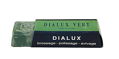 DIALUX Buffing Polishing Compound Rouge One Bar (Green)