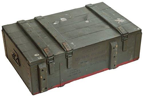 Munitionskiste AD81 Aufbewahrungskiste ca 82x51x29cm Militärkiste Munitionsbox Holzkiste Holzbox Weinkiste Apfelkiste Shabby Vintage