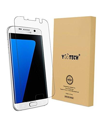Preisvergleich Produktbild Galaxy S7 edge Schutzfolie, Yootech[Anti-Lifting] Wet Applied [Vollständige Abdeckung] [Fallfreundlich] [Anti-Kratz] [Wiederverwendbar] [Selbstheilend]Anti-Luftblase HD-Qualität Displayschutzfolie Displayschutz Screen Protector Für Samsung Galaxy S7 edge abräumen Film
