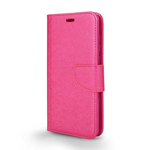 T-Mobile revvl Plus Fall, Coolpad revvl Plus Schutzhülle, Slim Armor Hybrid Cover [Staub/Kratzer Proof] Defender Dual Layer stoßfest Schutz Fall, Wal Hot Pink + Screen Protector Pink Screen Protector