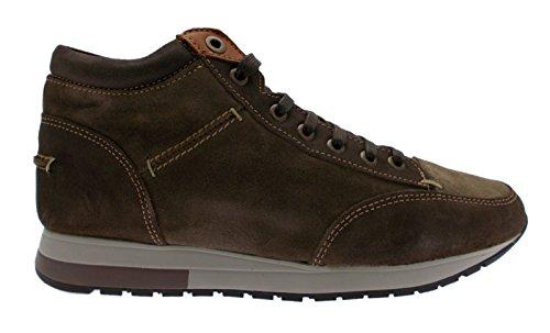 lacci camoscio marrone polacchino art CHAD sneaker 40 marrone