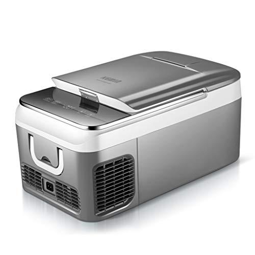 TCYLZ Congélateur de réfrigérateur de Voiture de compresseur, Mini glacière électrique multifonctionnelle -12v / 24v CC / 220v pour des Voyages de Longue Distance et Camper (18L / 26L)