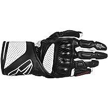 3558313 12 L - Alpinestars SP-8 Motorcycle Gloves L Black/White