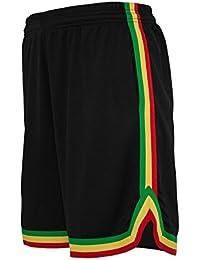 Short Basketball Urban Classics Stripes Mesh dans 10 couleurs
